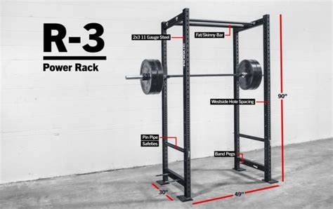 rack rogue power racks gym r3 squat crossfit fitness training bar garage pull roguefitness cages equipment weight fat bench skinny