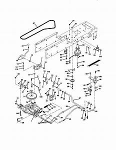 Craftsman Craftsman 13 5 Hp 38 U0026quot  Mower 5spd Lawn Tractor