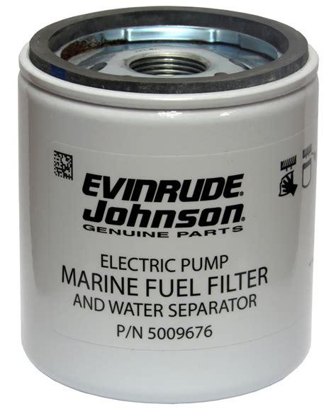 Evinrude E Tec Fuel Filter by Oem Evinrude Johnson 10 Micron Fuel Filter 5009676