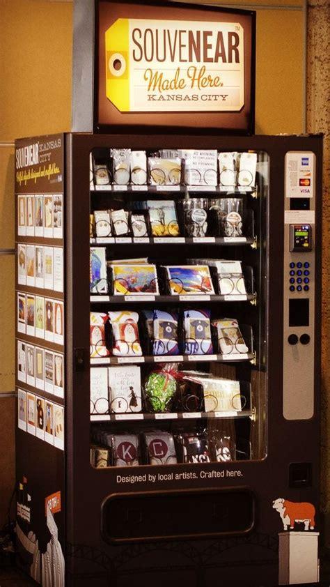 vending machine dispenses art  kansas city airport