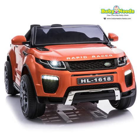 Electric Operated Cars by Range Rover Style Battery Operated Electric Ride On