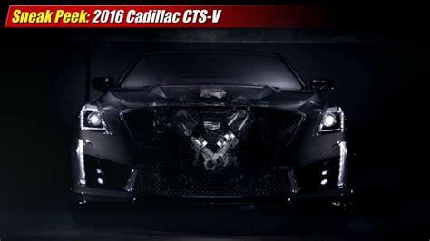 Sneak Peek 2016 Cadillac Ctsv Testdriventv