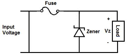 Current Zener Diode Overvoltage Protection Electrical