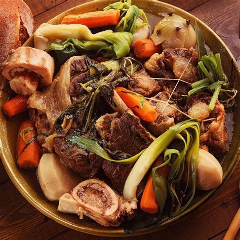 recette traditionnelle pot au feu pot au feu recipe dishmaps