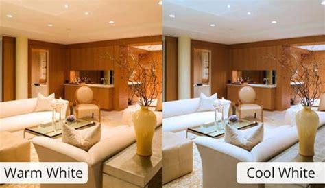 livingroom styles warm white or cool white integral led
