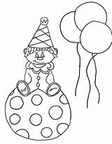 Coloring Clown Pages Face Printable Happy Krusty Sad Killer Drawing Template Craft Getdrawings Bestcoloringpagesforkids sketch template