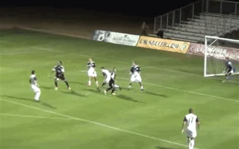 semi pro soccer player scores    goals   year
