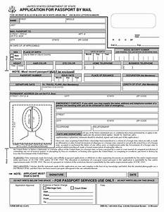 Passport application form free printable and passport on for Documents required for passport online application