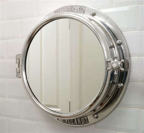 Porthole Mirror Cabinet  Chadder & Co