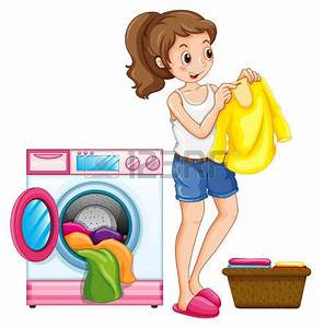 washing clothes clipart Clipground