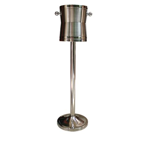 wine cooler stand stainless steel grazip