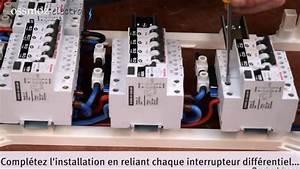 Installer Un Tableau électrique : installation d 39 un tableau lectrique pr quip youtube ~ Dailycaller-alerts.com Idées de Décoration