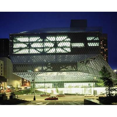 Seattle Central Library / OMA  LMNArchDaily