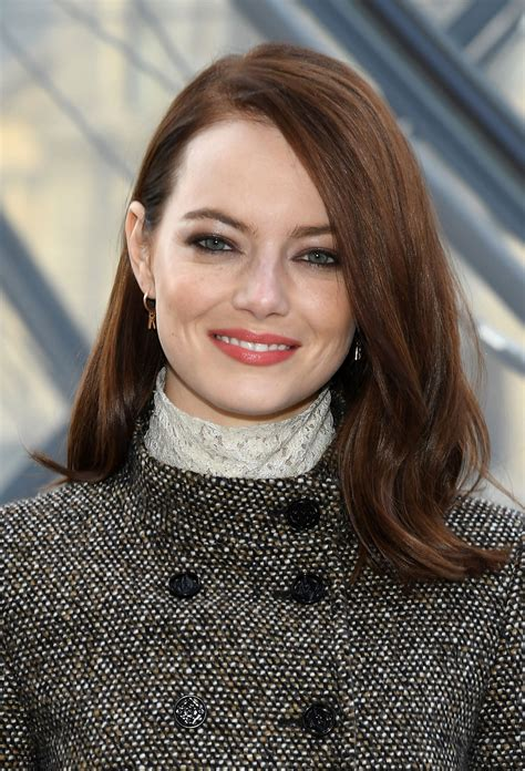 Emma stone and emma thompson chat with usa today's brian truitt about their many, many looks in the newest disney film, cruella. entertain this!, usa today stone's involvement was the real. Emma Stone Has Bright Red Hair While Filming 'Cruella'   InStyle.com