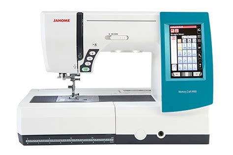 Janome Mc 9900