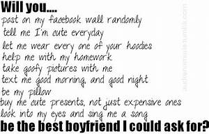 CUTE LOVE QUOTES FOR MY BOYFRIEND image quotes at ...