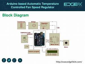 Arduino Based Automatic Temperature Controlled Fan Speed