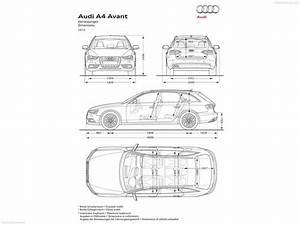 Dimension Audi A4 : audi a4 wagon dimensions the wagon ~ Medecine-chirurgie-esthetiques.com Avis de Voitures