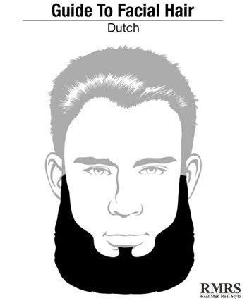 dutch beard   school beard style