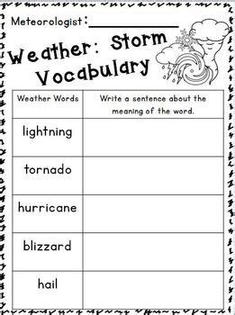 2nd grade science worksheets on weather 1st grade weather worksheets worksheets for all