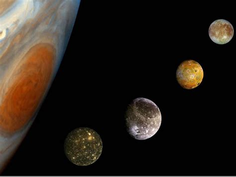 Jupiter Moons - Pics about space
