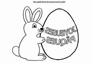 Lapin Facile A Dessiner : coloriage lapin awesome coloriage lapin de paques facile ~ Carolinahurricanesstore.com Idées de Décoration