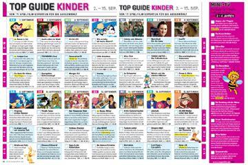 TV SPIELFILM TOP GUIDE Prima Programm für Kinder TV