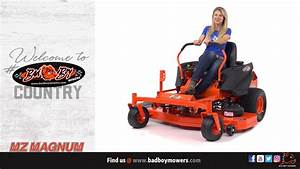 Bad Boy Mowers - 2018 Mz Magnum Approved Accessories