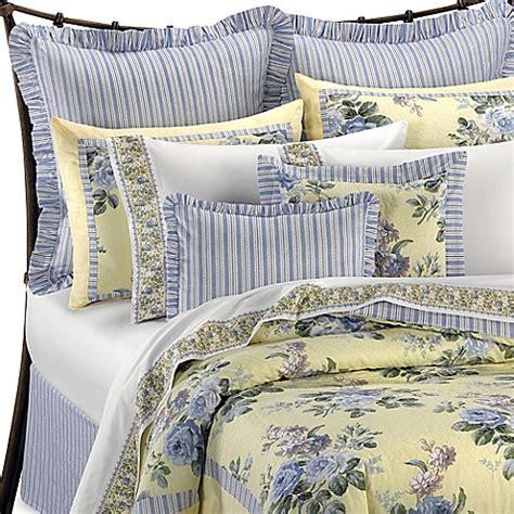laura ashley caroline reversible comforter set bed bath