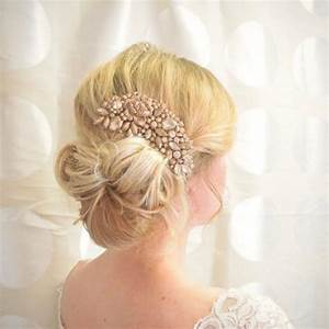 20 Off Sale Rose Gold Hair Comb Bridal Hair Comb