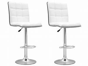 Chaise de bar blanc presto tabouret de bar topkoo for Table basse de jardin en plastique 6 chaise de bar blanc presto tabouret de bar topkoo