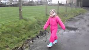 Girl Stuck In The Mud - Puddle Suits From Rain-shine - YouTube