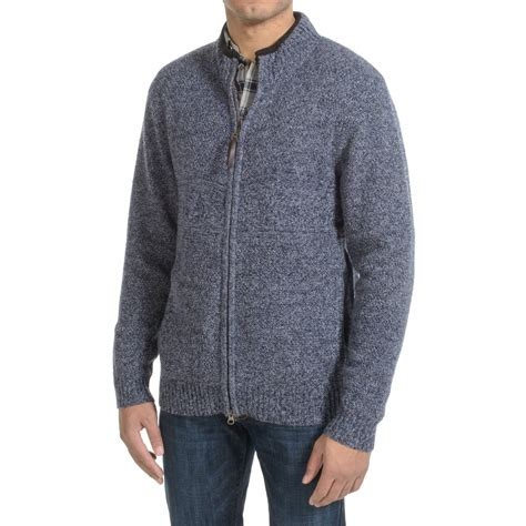 zip front sweater pendleton shetland zip front cardigan sweater for