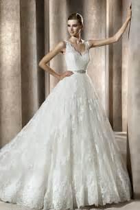 pronovia brautkleider look with lace gown wedding dresses cherry