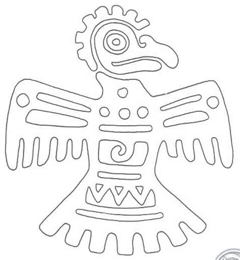 aztec mask template free printable aztec symbol collection