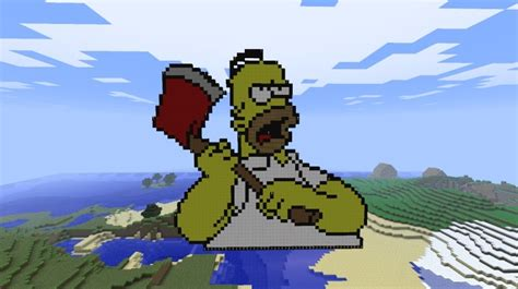 Angry Homer :P Minecraft Project