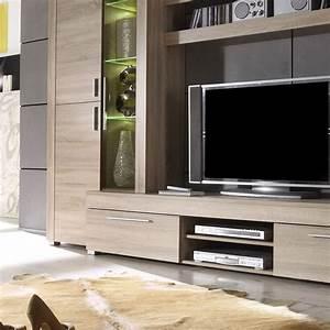 Meuble Tele Moderne : meuble t l avec vitrine moderne ultra tendance ~ Teatrodelosmanantiales.com Idées de Décoration