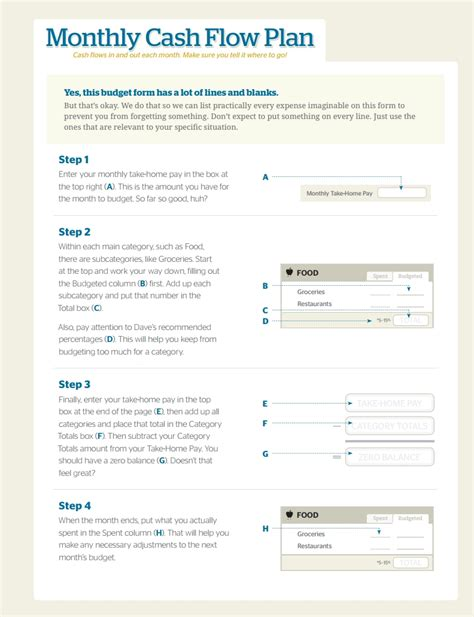 Dave Ramsey Budget Forms Template Free Download, Create, Fill Wondershare Pdfelement