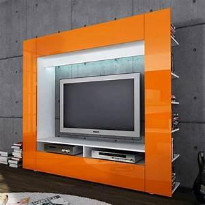 Meuble Tv Mur : le meuble t l vision de la mise en avant la discr tion ~ Teatrodelosmanantiales.com Idées de Décoration