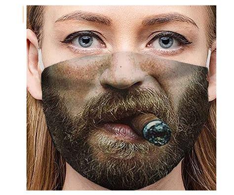 Pitashe Mund-Nasenschutz in vielen lustigen Motiven für je ...