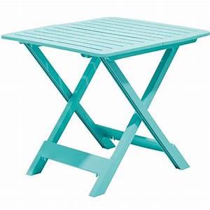 Table De Jardin Plastique : emejing petite table de jardin pliante en plastique images ~ Dailycaller-alerts.com Idées de Décoration