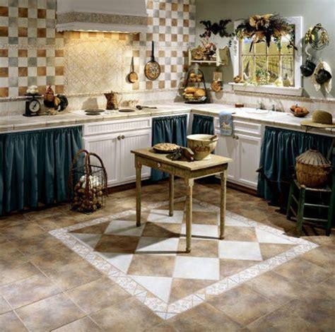Decorative Kitchen Floor Tile Design  Home Interiors