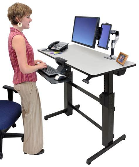 ergotron standing desk accessories sit stand desk