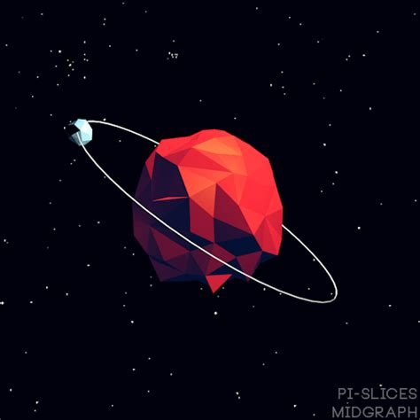 Animated Planet Wallpaper - abstract gif