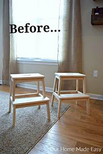 Ikea Bekväm Hack : easy ikea bekvam stool hack our home made easy ~ Eleganceandgraceweddings.com Haus und Dekorationen