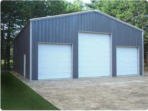 metal building products  styles steel building garages