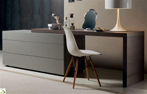 camere da letto con scrivania 242 moderno 3 cassetti alveo arredo design