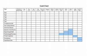 37 Free Gantt Chart Templates  Excel  Powerpoint  Word