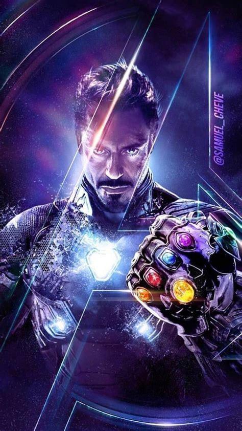 endgame tony stark infinity stones iphone wallpaper iron