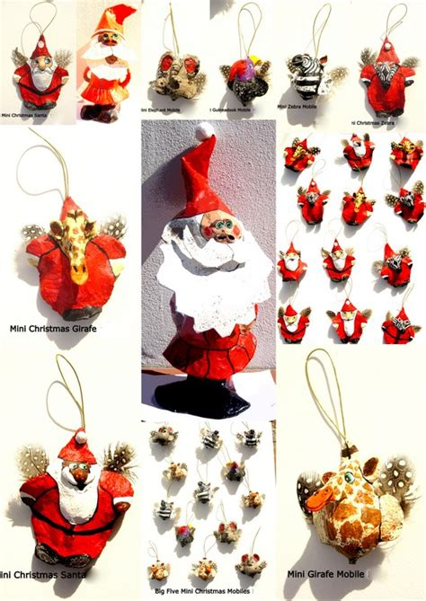 papermache creations christmas